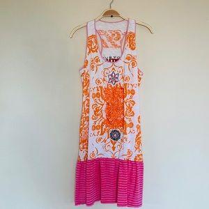 Custo Barcelona beaded sundress Vintage